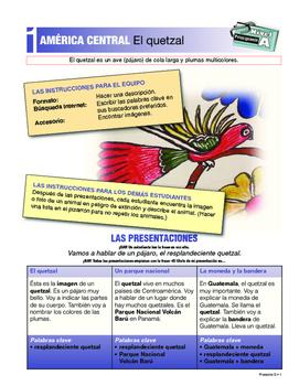 ORAL Presentations - CENTRAL AMERICA: Francis Drake, CR parks, quetzal + more