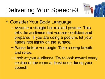 Oral Presentations and Speeches Powerpoint