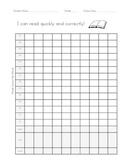 Oral Reading Fluency Data Graph