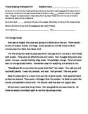 Oral Reading Fluency Practice Set #1