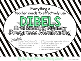 Oral Reading Fluency Progress Monitoring (DIBELS or customize to your measure!)