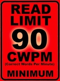 Oral Reading Fluency READ LIMIT 2nd Grade Sign