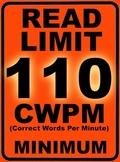 Oral Reading Fluency READ LIMIT 3rd Grade Sign