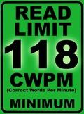 Oral Reading Fluency READ LIMIT 4th Grade Sign