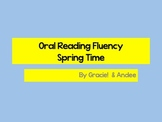Oral Reading Fluency Short Stories Spring Time