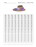 Oral Reading Fluency Student Self-Progress Monitoring Charts
