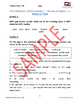 Oral / Speaking / Conversation English Workbook - FREE SAMPLE