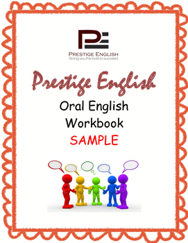 Oral / Speaking / Conversation English Workbook - FREE SAMPLE