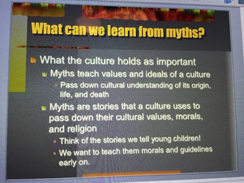 Oral Storytelling to Native American Myths