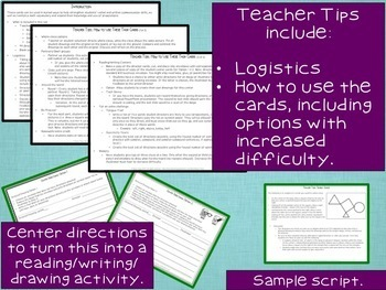 Oral and Written Communication Skills Task Cards