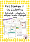 Oral language in the classroom