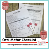 Oral motor and Feeding Assessment Checklist