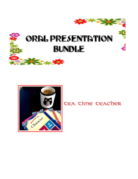 Oral presentation bundle