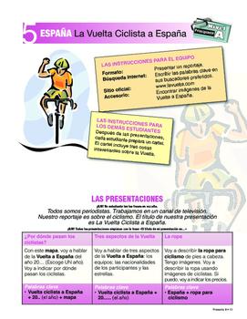 ORAL Presentations - SPAIN: Vuelta a España, Guernica, Madrid ++