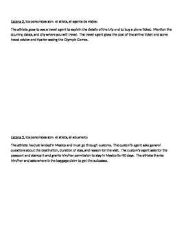 Oral project- Un viaje a los Juegos Olímpicos