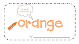 Orange Activity Book!