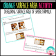 Orange Surface Area Activity (Surface Area of Spheres)