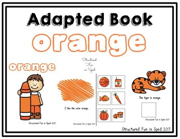 Orange Adapted Book