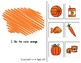 Orange Adapted Book for Preschool, Pre-K and Special Needs