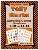 Tally Marks Matching Activity