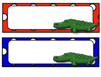 Orange & Blue (Gator Sports) Classroom Decor Pack #1