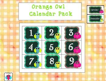 Orange Calendar Pack