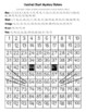 Orange Calico Cat Hundred Chart Mystery Pictures with Number Cards