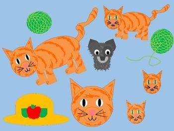 Orange Cat Clip Art