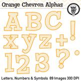 Orange Chevron Alpha Clip Art - 89 images