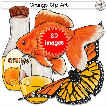 Orange Color clipart