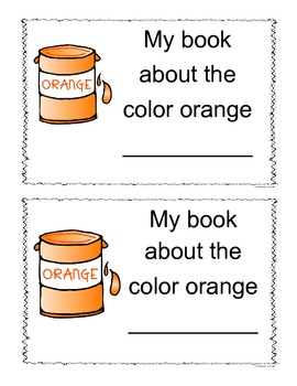 Orange Color Book