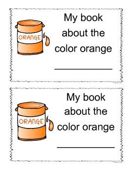 Orange Color Book