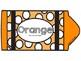 Orange Color Song Crayon Book