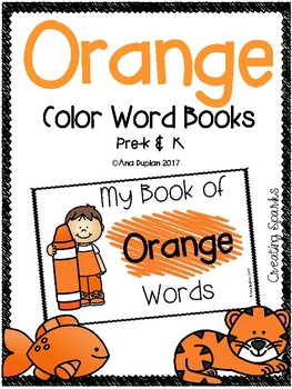 Orange Color Word
