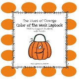 Orange Color of the Week Lapbook