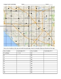 Orange County (SoCal) Coordinate Plane