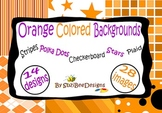 Digital Background Papers - Orange
