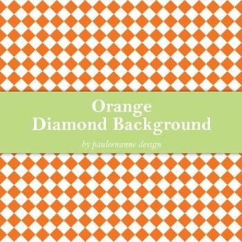 Orange Diamond Background