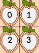 Orange Dot Apple Number Flashcards 0-100