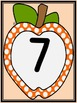 Orange Dot Apple Number Flashcards and Posters Bundle 0-100