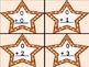 Orange Dot Star Addition Flashcards 0-12
