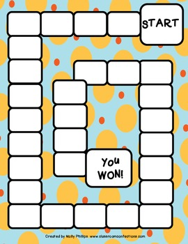 Orange Dots and Stars Game Boards