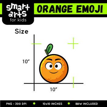 Orange Emoji Clip Art