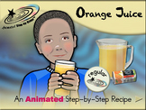 Orange Juice - Animated Step-by-Step Recipe - Regular