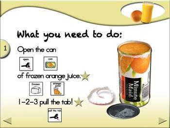 Orange Juice - Animated Step-by-Step Recipe - SymbolStix