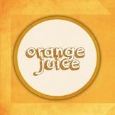 Orange Juice Font for Commercial Use
