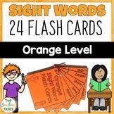 New Zealand Sight Words - Orange Level Flash Cards