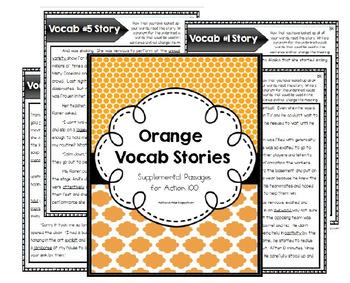 Orange Level Vocab Passages