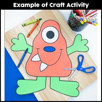 Monster Craft {Orange Monster}