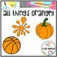 Orange Objects Clip Art